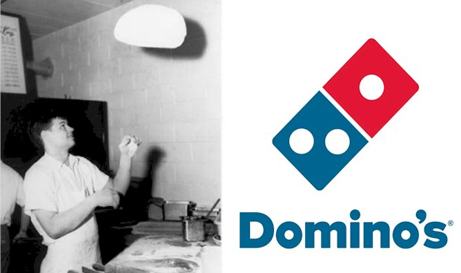 Domino's Logo And the History of the Company