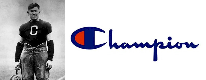 Champion logo and some history of the business