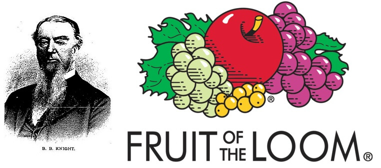 Fruit of the Loom logo and Its History
