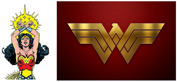 Wonder Woman logo and the history behind the movie