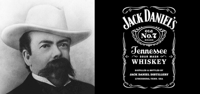 Jack Daniels logo and the history of the business