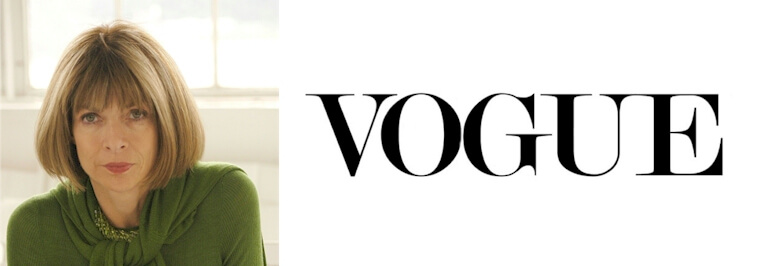 Vogue logo and Its History
