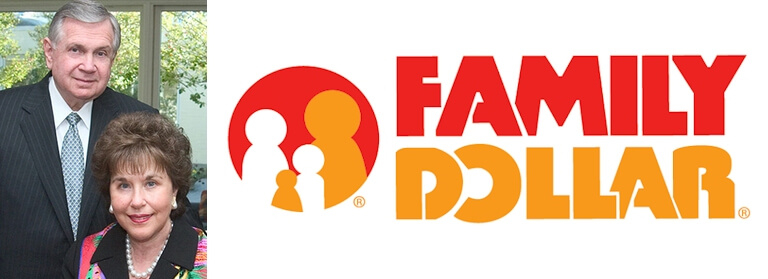 Family Dollar logo and their history