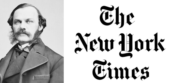 New York Times Logo & the history of the paper